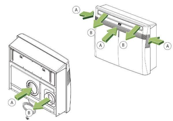 REMKO Kompaktklimagerät für Kühl- und Heizbetrieb