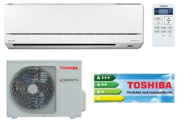 TOSHIBA Inverter-Wandgerät SET Serie AvAnt Innengerät RAS-137SKV-E6 + Aussengerät RAS-137SAV-E6