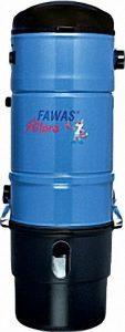 FAWAS Zentralstaubsauger Allora für Wohnflächen bis 200 qm