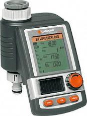 GARDENA Bewässerungscomputer C1060 solar für Wasserhähne mit 26,5 mm und 33,3 mm Gewinde