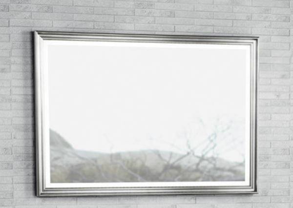 DANSANI Rahmenspiegel Profil Beleuchtung Wärmefeld 100x70 cm