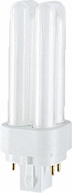 Energiesparlampe Dulux D/E für EVG 13W/840 Cool White