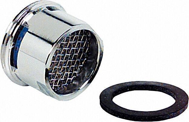Strahlregler mit Sondergewinde AG M22X1 mit Gummidichtung Luftsprudler