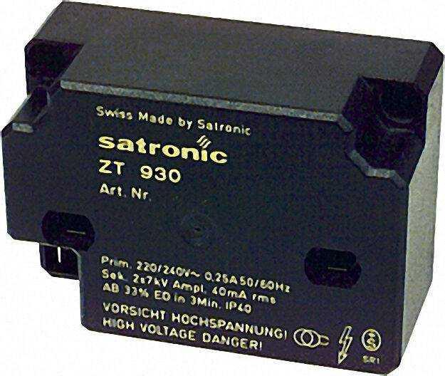 13121 Hochfrequenzzündeinrichtung Satronic ZT 930 sek. Ansch