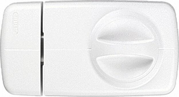 Tür-Zusatzschloss 7010 W EK weiß