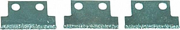 Ersatzhartmetall-Klingen für Fugenreiniger 147mm - 3teilig
