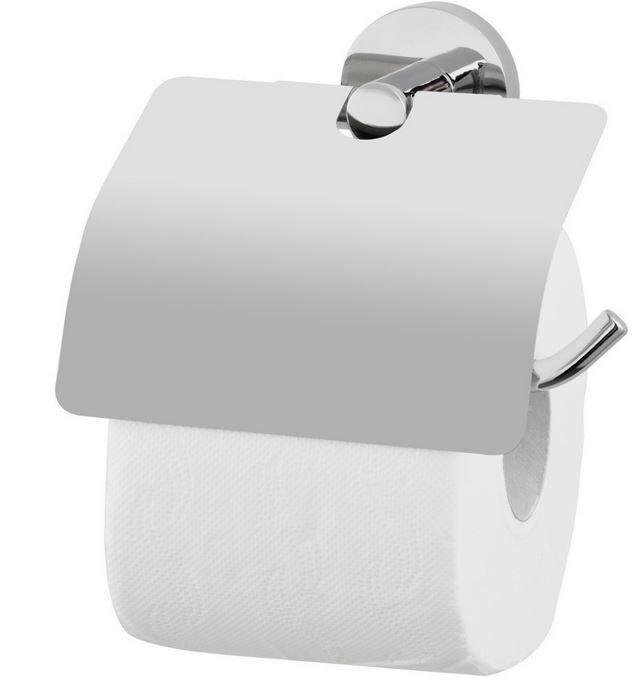 WC-Papierrollenhalter mit Deckel nie wieder bohren