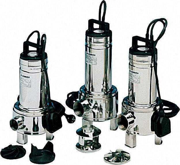 Schmutzwasserpumpe TypDOMO 7/B GT mit Schwimmschalter 0,55kW