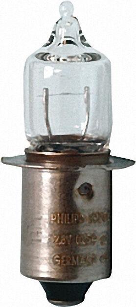 Miniwatt-Halogensteckbirne P13,5S 4. 8V, 0,5A