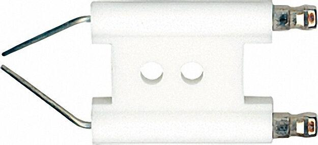 Doppelzündelektrode für Giersch R1 V / R2 V Anschluss 6,3mm