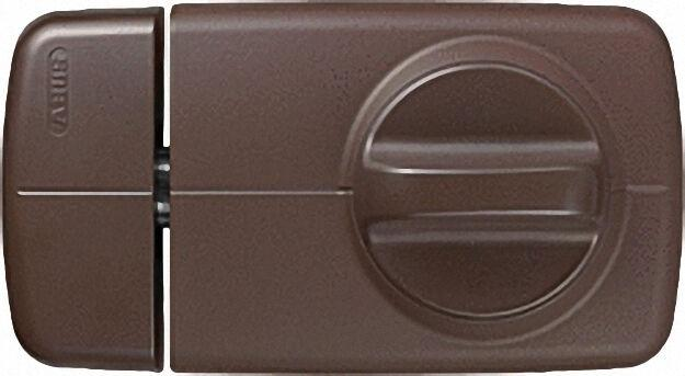 Tür-Zusatzschloss 7010 B EK braun