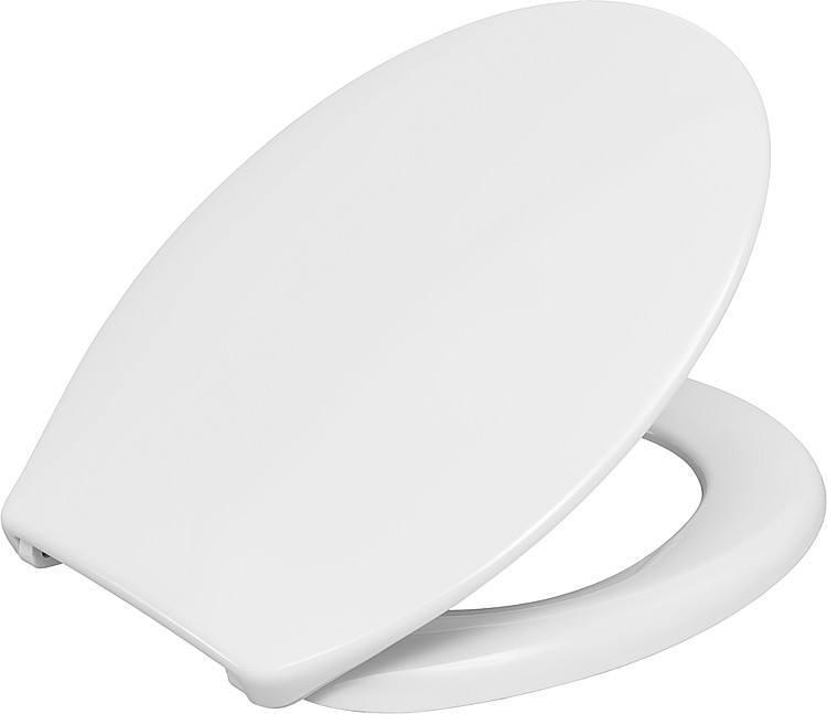 WC-Sitz Gola, weiß, Duroplast