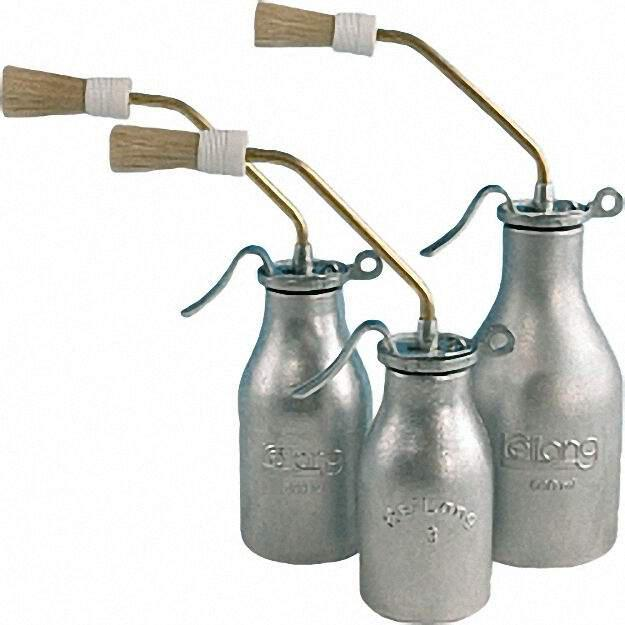 Pinselöler mit Einzelpumpenwerk Inhalt 200ml Behälter aus Alum