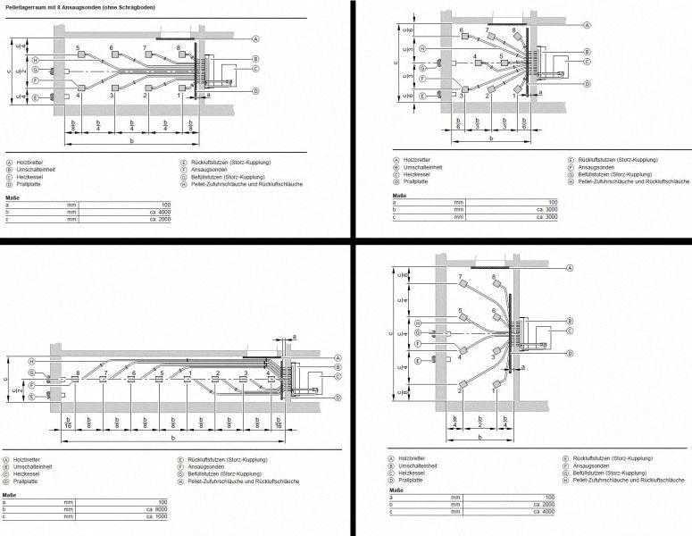 VIESSMANN Raumentnahme mit Saugsonden, Umschalteinheit und Saugsystem