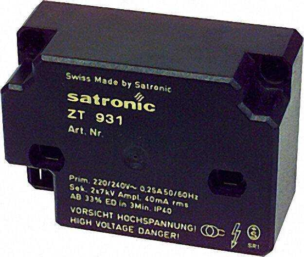 Hochfrequenzzündeinrichtung Satronic ZT 931 sek. Anschluss 1