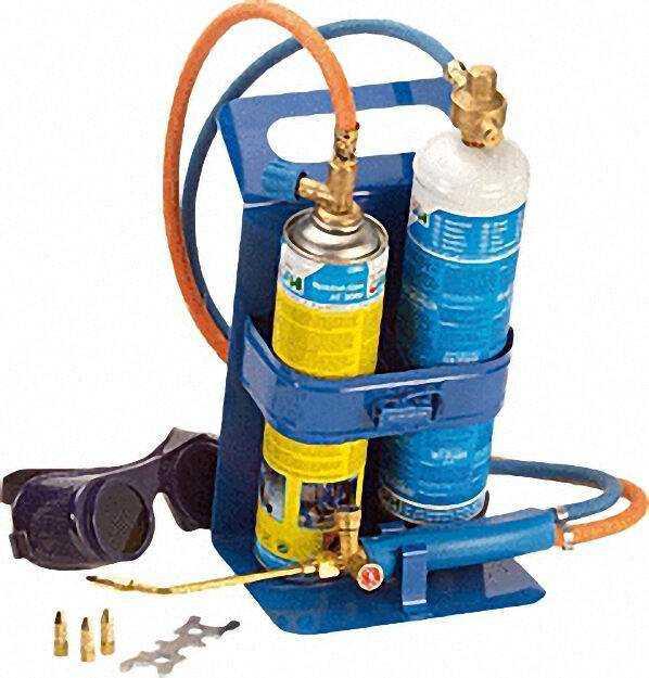 Autogen-Schweiß-und Hartlötgerät Schweiß Fix 3100°C inklusive Flaschen