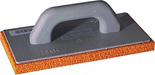 Kunststoffreiber SGR 28x14x2 mit rotem Schwammgummi 20mm