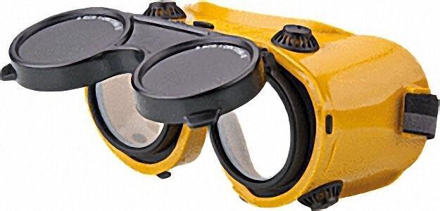 Schweißer-Kunststoffbrille hochklappbar