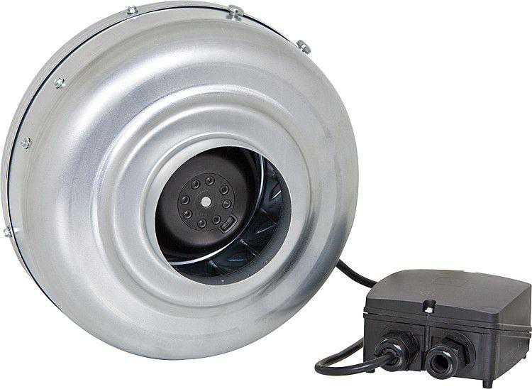 S&R Rohrventilator VENT mit Konsole