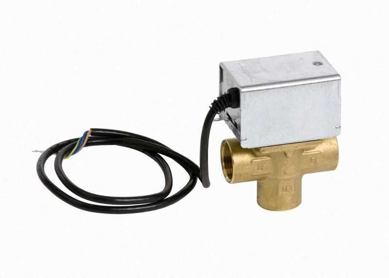 7814924 3-Wege-Umschaltventil mit elektrischem Antrieb, Ansc