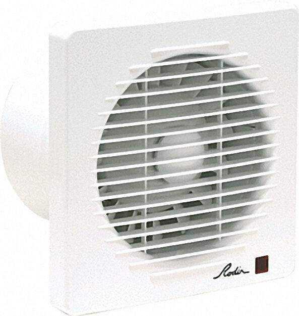 Markenprodukt Wand-Ventilator Typ HEF-150 Einbau in Rohre/Schächte NW150