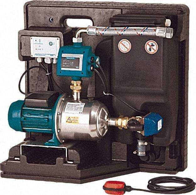 RainSystem AF Basic System AF Basic Motornennleistung 0, 55 kW