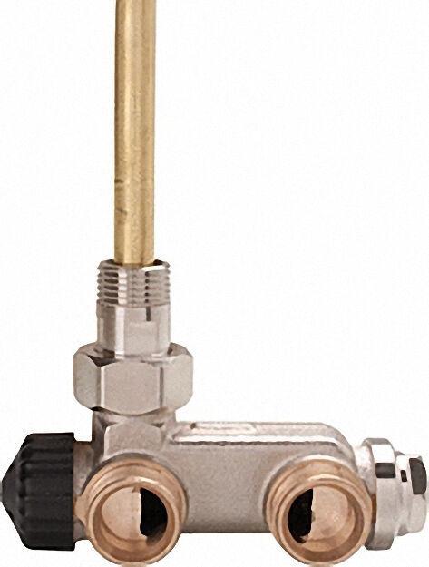E-Z Ventil mit Tauchrohr DN 15 Zweirohrsystem Durchgangsform