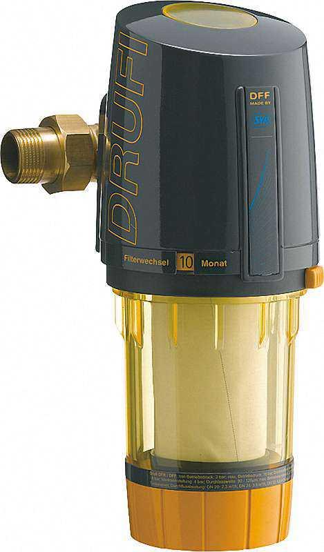 Wasserfilter mit Druckminderer, Drufi DFF Plus