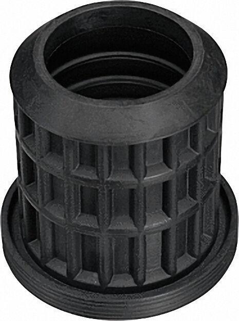 Reduzier-Muffe DN 50/40 schwarz