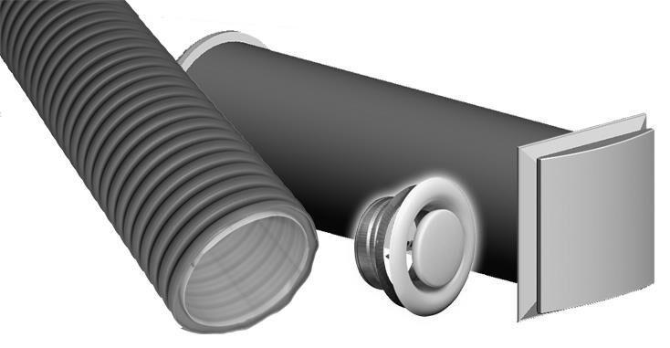 360370 KFPDZA210N Paket Kunststoff-Flex dezentrale Zuluft / ze