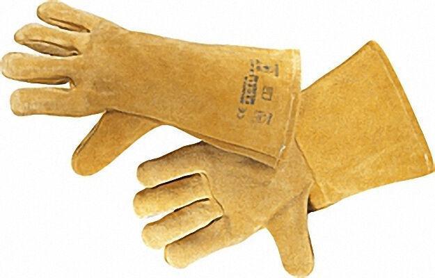 Schweißerhandschuh Rindspaltleder Hitzebeständig, Größe 11