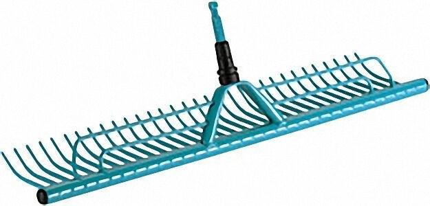 Combisystem-Rasenrechen 73cm breit mit Grasfangvorrichtung