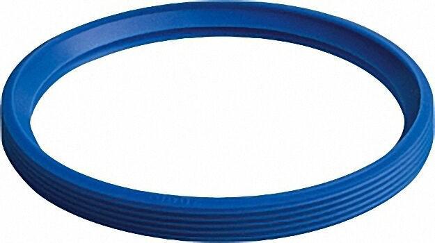 Silicon-Flanschdichtung DN80 blau