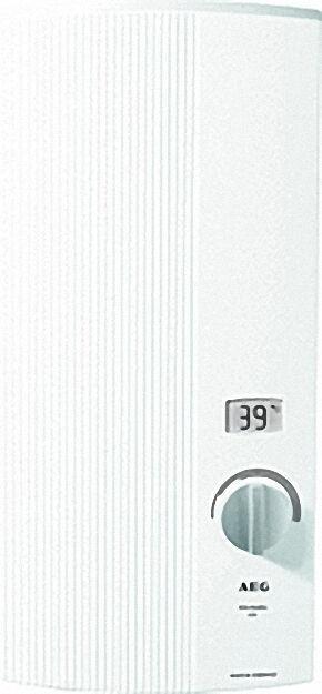 222394 Elektronischer Durchlauferhitzer DDLE LCD 18/21/24 umschalt
