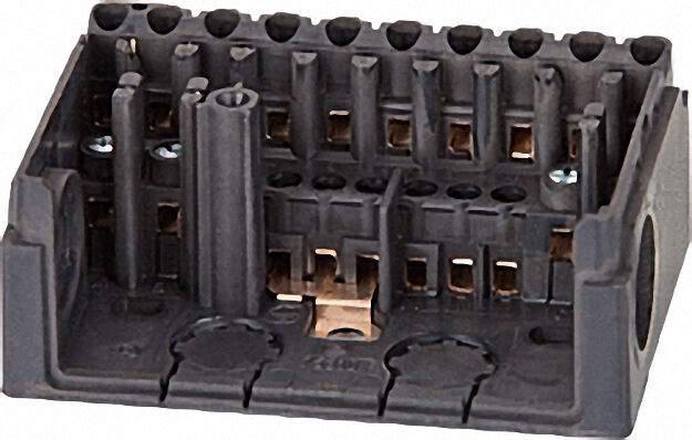 Sockel Satronic S98-12-polig für Dxx/MMI/MMG ohne PG-Platte