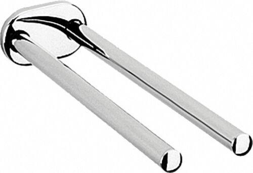 Handtuchhalter, zweiarmig aus Metall, ausziehbar Länge: 320mm