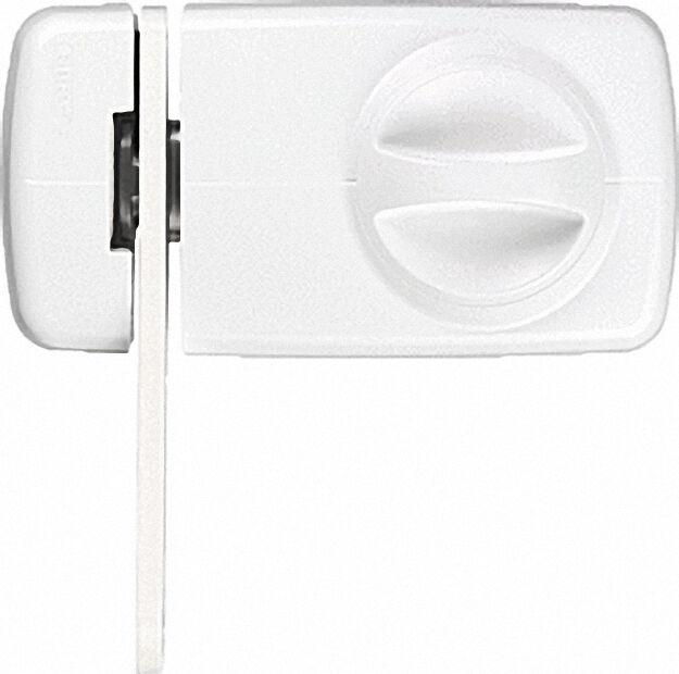 Tür-Zusatzschloss 7030 W EK weiß