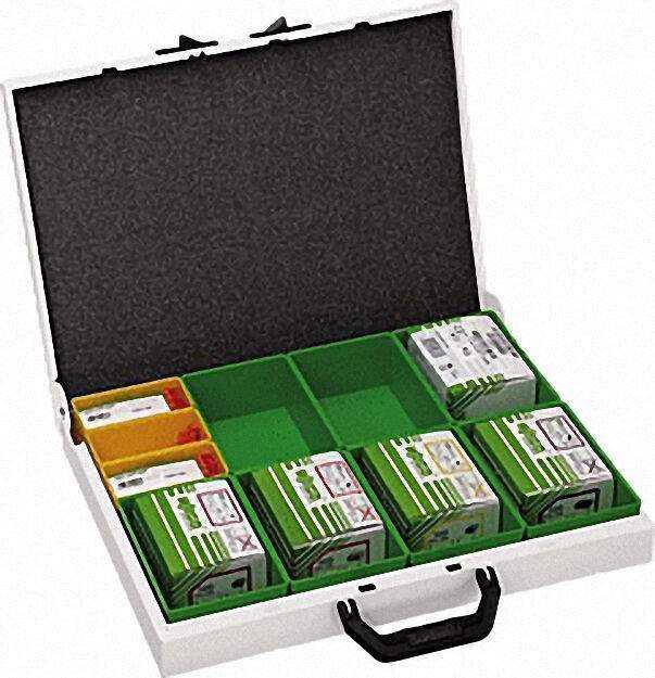 Variobox-Sortimo Dosenklemmensortiment Metall-Koffer/ 44 x 33 x 6