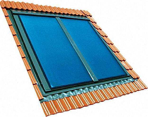 Indach-Flachkollektor Typ SX 2,85 qm