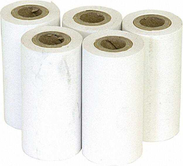 Thermopapier, VPE = 5 Rollen Lahngzeitlesbar B: 57mm, D: 35mm, L