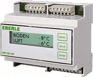 Eismelder EM 524 89 für Dachrinnenbeheizung mit Feuchte- und Temperaturfühler