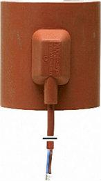 Heizmanschette für eisfreie Dacheinläufe DN80-125 230V 25W Anschlussleitung 1m