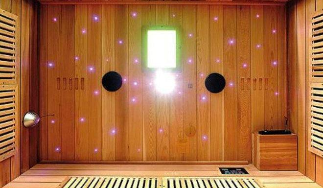 Romantischer Sternenhimmel für das persönliche Saunaparadies