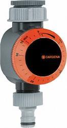 GARDENA Bewässerungsuhr automatische Abschaltung Dauerwasserdurchlauf einstellbar
