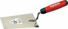 Berner Putzkelle rostfrei 160 mm 2K-ERGO rot schwarz