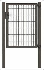 einstabmattenzaun-einzeltor-verzinkt-anthrazit-metallic-kunststoffbeschichtet-maschenweite-50x250-mm