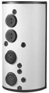 DIMPLEX 362890 PWD1250 Standspeicher für Heizung und zentrale Durchfluss-Trinkwassererwärmung
