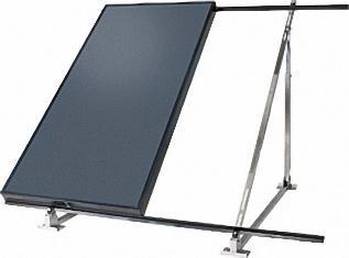 Flachdach-Set für drei Kollektoren WS A10