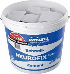 KREISEL Montageschnellzement Neurofix 7x2 kg zum Montieren von Balkongeländern