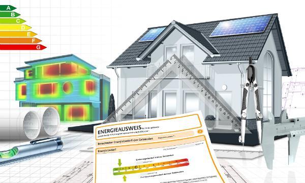 Energiesparhaus mit Energieausweis